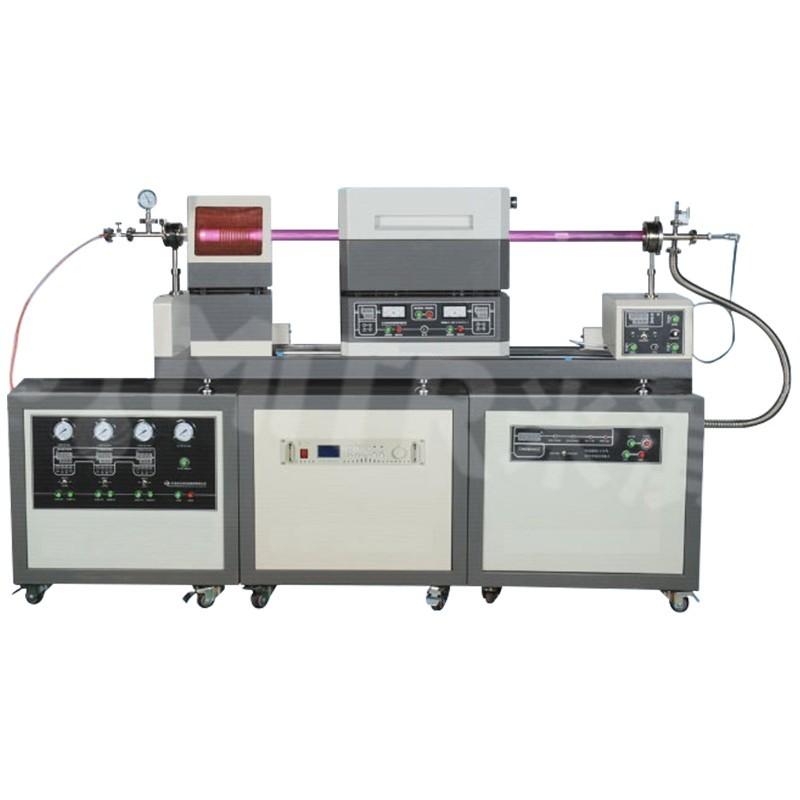 1200°C滑动式双温区PECVD系统