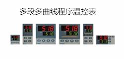 多段多曲线程序温控表