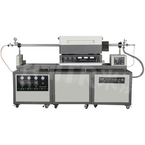 1200°C滑动式三温区CVD系统